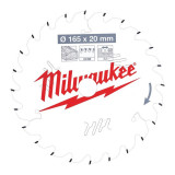 Milwaukee CSB P W körfűrészlap 165/20/24ATB