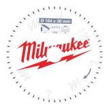 Milwaukee CSB P Alu körfűrészlap 184/30/54TF