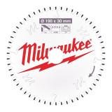 Milwaukee CSB P Alu körfűrészlap 190/30/54TF