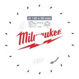 Milwaukee CSB P W körfűrészlap 140/20/18ATB