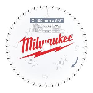 Milwaukee CSB P W körfűrészlap 165/15.87/40ATB termék fő termékképe