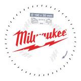 Milwaukee CSB P W körfűrészlap 190/30/48ATB