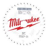 Milwaukee CSB MS W körfűrészlap 190/30/40ATB