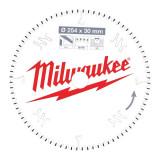 Milwaukee CSB MS Alu körfűrészlap 254/30/80TF