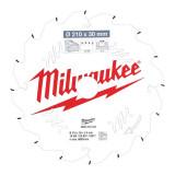 Milwaukee CSB P W körfűrészlap 210/30/16ATB