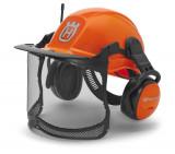 Husqvarna Functional erdészsisak rádióval, narancssárga