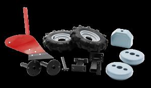 Eke gumi kerekekkel és pótsúlyokkal motoros kapához termék fő termékképe