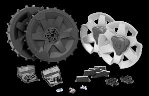 Kerékkészlet lejtős talajhoz, Automower 420/430X/450X készülékekhez termék fő termékképe