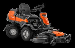 Husqvarna R 420TSX AWD rider + Combi 122 vágóasztal termék fő termékképe