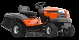 TC 138 kerti traktor, fűgyűjtős