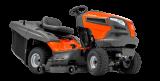 TC 142T kerti traktor, fűgyűjtős