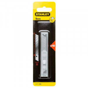 Stanley 0-11-300 tördelhető penge 9 mm, 10db/csomag termék fő termékképe