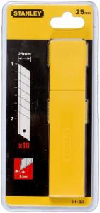 Stanley 0-11-325 tördelhető penge, 25 mm, 10db/csomag termék fő termékképe