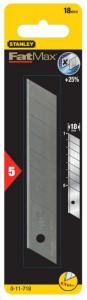 Stanley 0-11-718 FATMAX® tördelhető penge 18 mm, 5db/csomag termék fő termékképe
