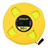 Stanley 0-34-297 zárt, üvegszálas mérőszalag, 30 m