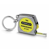 Stanley 0-39-055 POWERLOCK® kulcstartó mérőszalag, 1 m