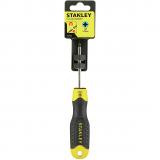 Stanley 0-64-955 CushionGrip™ pozidrive csavarhúzó, PZ1 x 75 mm (bliszteres)