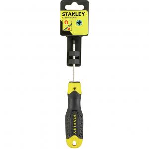 Stanley 0-64-974 CushionGrip pozidrive csavarhúzó, PZ2 x 100 mm (bliszteres) termék fő termékképe