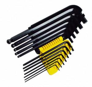 Stanley 0-69-257 imbuszkulcs készlet, 12 részes, colos termék fő termékképe