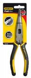 Stanley 0-89-872 FATMAX® félkerekcsőrű fogó, hajlított kivitel, 200 mm