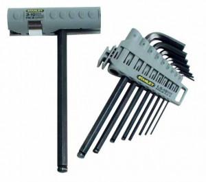 Stanley 0-89-904 imbuszkulcs készlet, gömbvégű, 9 részes termék fő termékképe