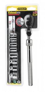 """Stanley 0-94-609 3/8"""" dönthető fejű, teleszkópos dugókulcs készlet, 9 részes termék fő termékképe"""