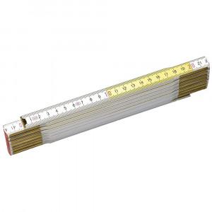 Stanley 0-35-458 csuklós famérce, sárga-fehér, 2 m termék fő termékképe