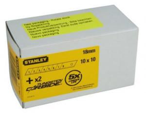 Stanley 1-11-301 tördelhető penge 18 mm, 100db/csomag termék fő termékképe