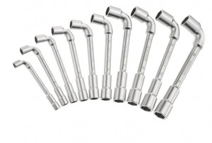 Stanley 1-17-383 pipakulcs készlet, 6x6 pontos, 10 részes termék fő termékképe