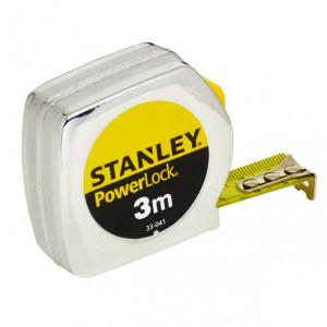 Stanley 0-33-041 POWERLOCK® ABS házas mérőszalag, 3 m (bliszteres) termék fő termékképe