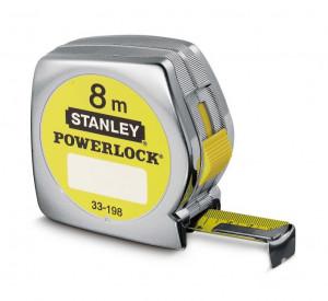 Stanley 0-33-198 POWERLOCK® ABS házas mérőszalag, 8 m (bliszteres) termék fő termékképe