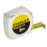 Stanley 0-33-238 POWERLOCK® ABS házas mérőszalag, 3 m (bliszteres)