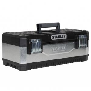 """Stanley 1-95-619 galvanizált fém / műanyag szerszámláda, 23"""" termék fő termékképe"""