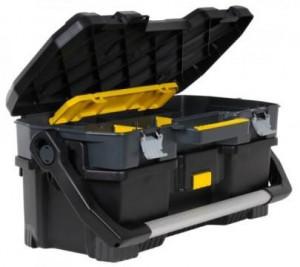 """Stanley 1-97-506 szerszámos láda, levehető zárt dobozzal, 24"""" termék fő termékképe"""