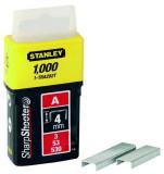 "Stanley 1-TRA202T ""A"" tűzőkapocs 4 mm, 1000db/csomag"