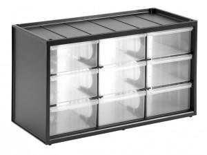 Stanley 1-93-978 csavartartó doboz, 9 részes termék fő termékképe