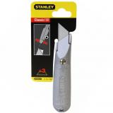 Stanley 2-10-199 fémházas rögzített pengés kés, bliszteres