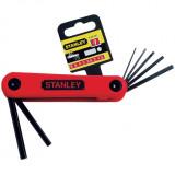 Stanley 4-69-261 összecsukható imbuszkulcs készlet, 7 részes