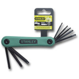 Stanley 4-69-263 összecsukható torxkulcs készlet, 8 részes