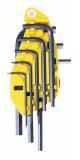 Stanley 0-69-252 imbuszkulcs készlet, 8 részes, colos