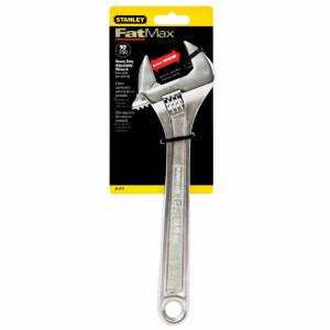 """Stanley 0-95-874 FATMAX® állítható csavarkulcs, 250 mm/10"""" (bliszteres) termék fő termékképe"""