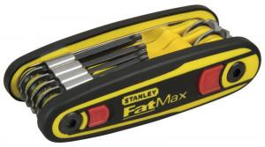 Stanley 0-97-553 FATMAX® rögzíthető torxkulcs készlet, 8 részes termék fő termékképe