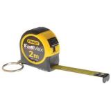 Stanley FMHT0-33856 FATMAX® kulcstartós mérőszalag, 2 m (bliszteres)