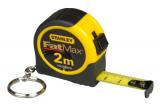 Stanley FMHT1-33856 FATMAX® kulcstartós mérőszalag, 2 m