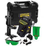 Stanley FATMAX® X3G többvonalas lézer 30/50 m, zöld