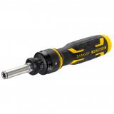 Stanley FMHT62692-0 FATMAX® racsnis csavarhúzó + 3 db kettős behajtóhegy