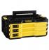 Stanley FMMT98107-1 FATMAX® 3 fiókos dugókulcs, bit és csillag-villáskulcs készlet összecsatolható tárolódobozban, 97 részes