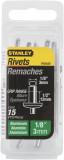Stanley 1-PAA48T popszegecs, 3 x 12 mm,15db/csomag