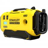 Stanley SFMCE520B FATMAX® V20 akkus 11 bar nyomású hármas forrású inflátor (akku és töltő nélkül)