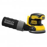 Stanley SFMCW220B FATMAX® V20 akkus excentercsiszoló (akku és töltő nélkül)